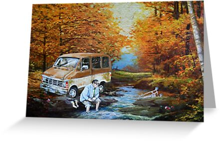 Living in a Van Down by the River by David Irvine