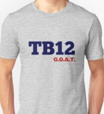 TB 12 GOAT (Tom Brady) New Design Unisex T-Shirt