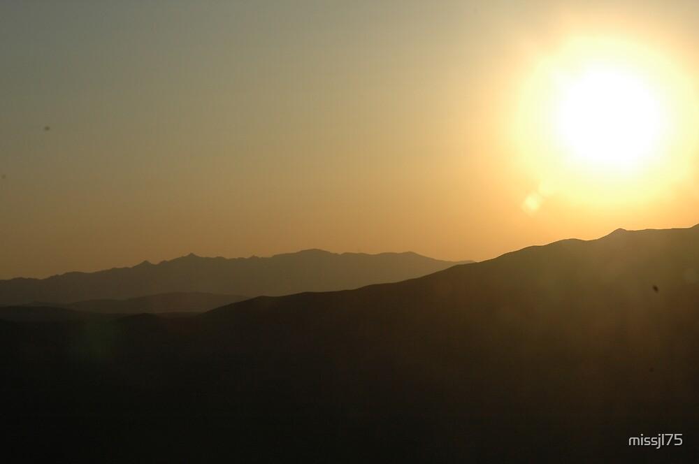 sunset over navarda by missjl75