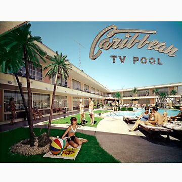 Caribbean Motel Wildwood New Jersey Retro 1960's Photographs by aladdincolor