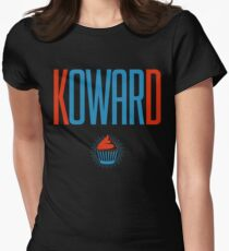 Kevin Durant Cupcake Koward Womens Fitted T-Shirt