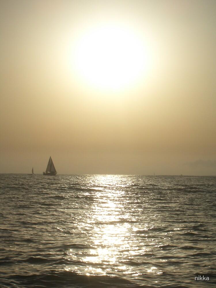 hazy sail by nikka