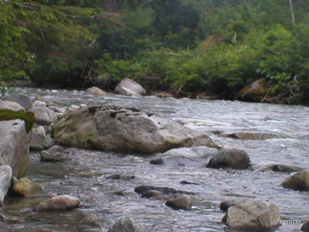 Rivers rocky flow by greenizer