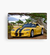 Dodge Viper 'Cypress Point' Canvas Print