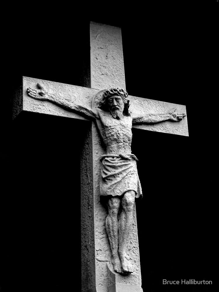 Crucifixion by Bruce Halliburton