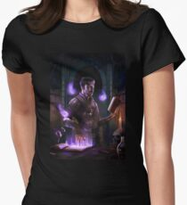 Magic, babe Womens Fitted T-Shirt