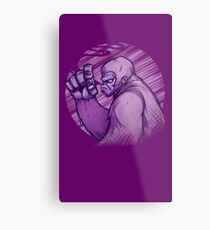 The Great Grape Ape Metal Print