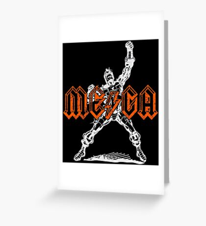 Mega Punk Robot (hump remix) Greeting Card
