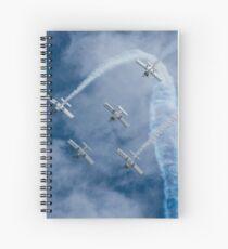 Aerobatics Spiral Notebook