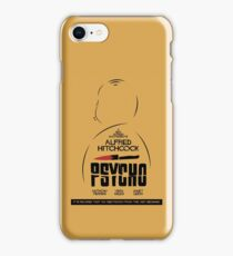 Psycho, Hitchock, 1960, Movie Poster, classic film, horror, thriller, iPhone Case/Skin