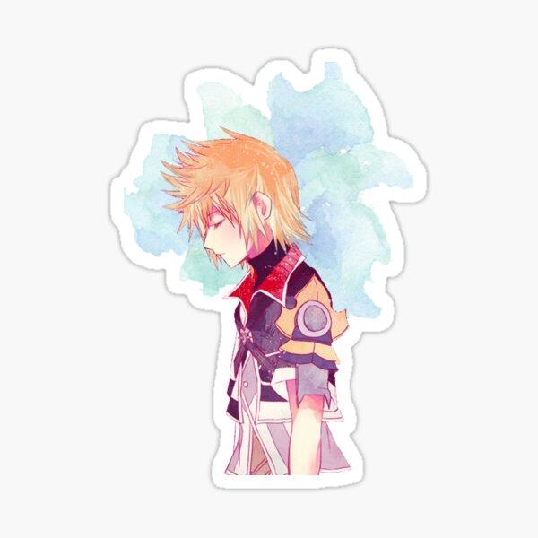 Kingdom Hearts Ventus Watercolor Sticker