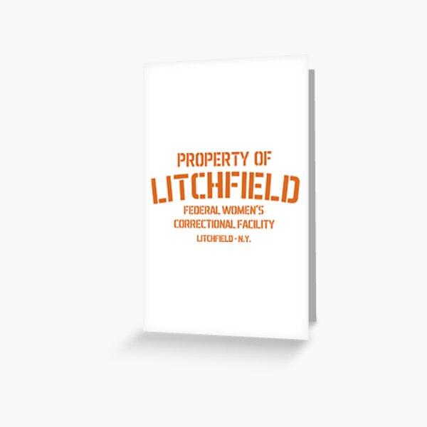 Property of Litchfield Tarjetas de felicitación