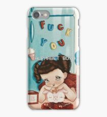 ALPHABET BOY iPhone Case/Skin