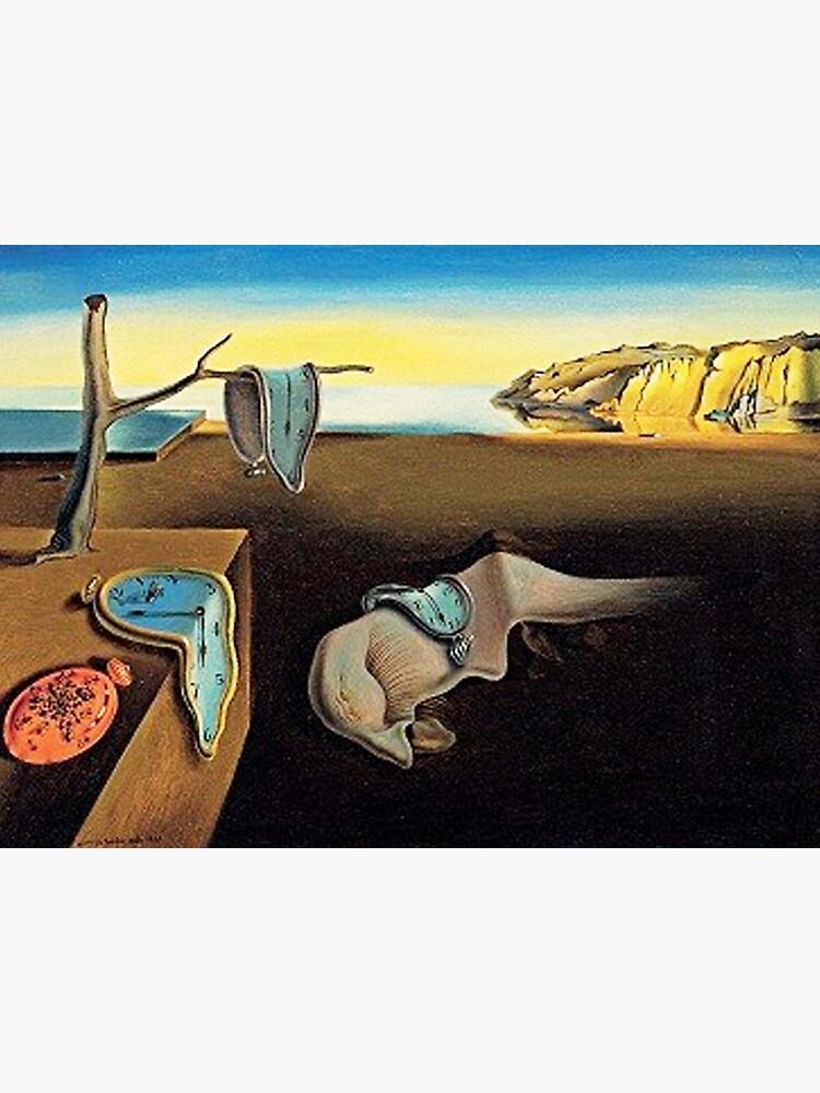 DALI, Salvador Dali, The Persistence of Memory, 1931. by TOMSREDBUBBLE