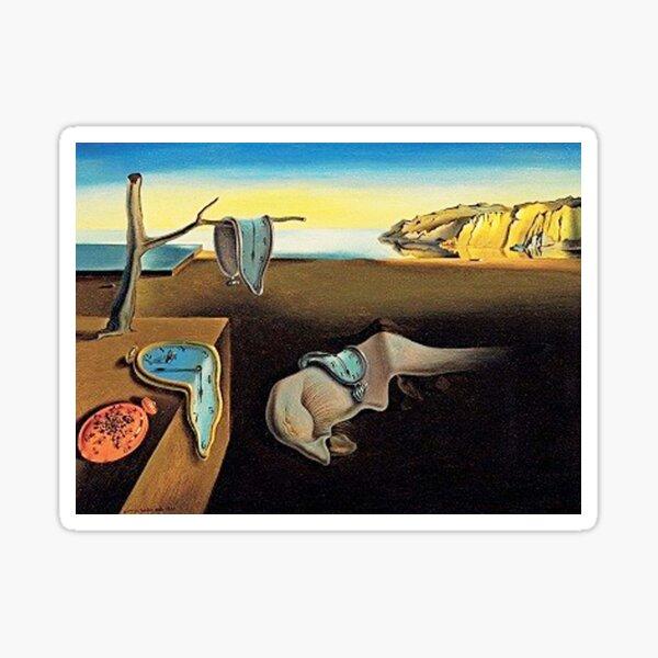 DALI, Salvador Dali, The Persistence of Memory, 1931. Sticker