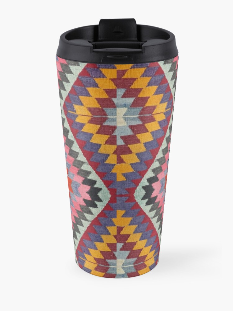 Alternate view of Turkish Kilim Travel Mug