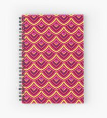 Chinese Paper Dragon by Julie  Everhart Spiral Notebook
