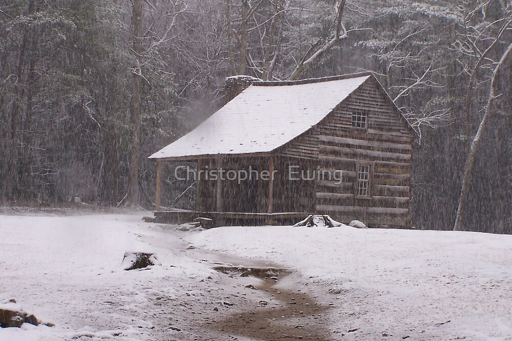 Carter Shield's Cabin by Christopher  Ewing