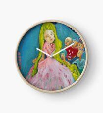 The gift. El regalo Clock