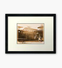 #207 Framed Print
