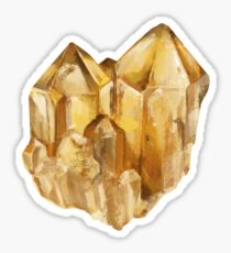 Citrine Sticker