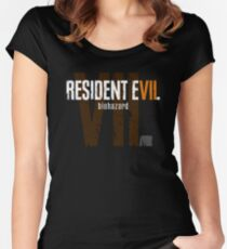 Resident Evil VII Women's Fitted Scoop T-Shirt