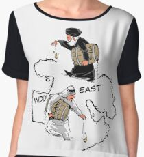 Middle East carousel Chiffon Top