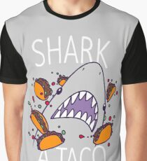 SHARK A TACO  Graphic T-Shirt