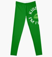 Küss mich, ich bin irische St. Patricks Day Womens Leggings