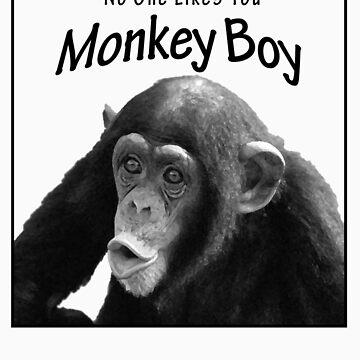 Monkey Boy by troy