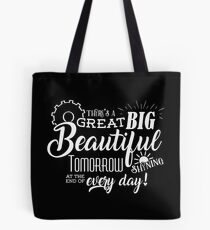 Carousel of Progress - Great Big Beautiful Tomorrow Tote Bag