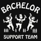 Bachelor Support Team / Beer Drinkers (Stag Party / White) by MrFaulbaum