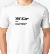 Fun Facts About Germany T-Shirt