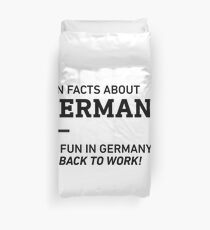 Fun Facts About Germany Duvet Cover