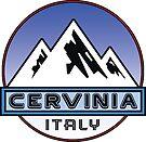 skiing cervinia italy ski mountains snowboarding hike climb by MyHandmadeSigns