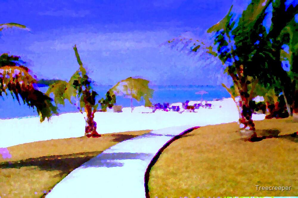 The Beach by Treecreeper
