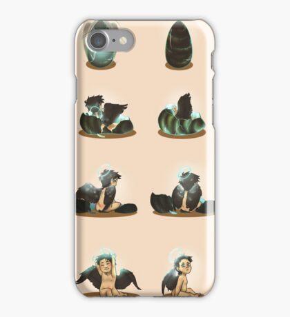 Baby Castiel - Wallpaper iPhone Case/Skin