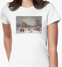 American Winter Scene T-Shirt