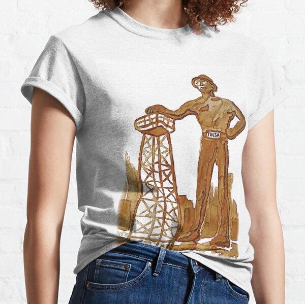 Tulsa Golden Driller Classic T-Shirt