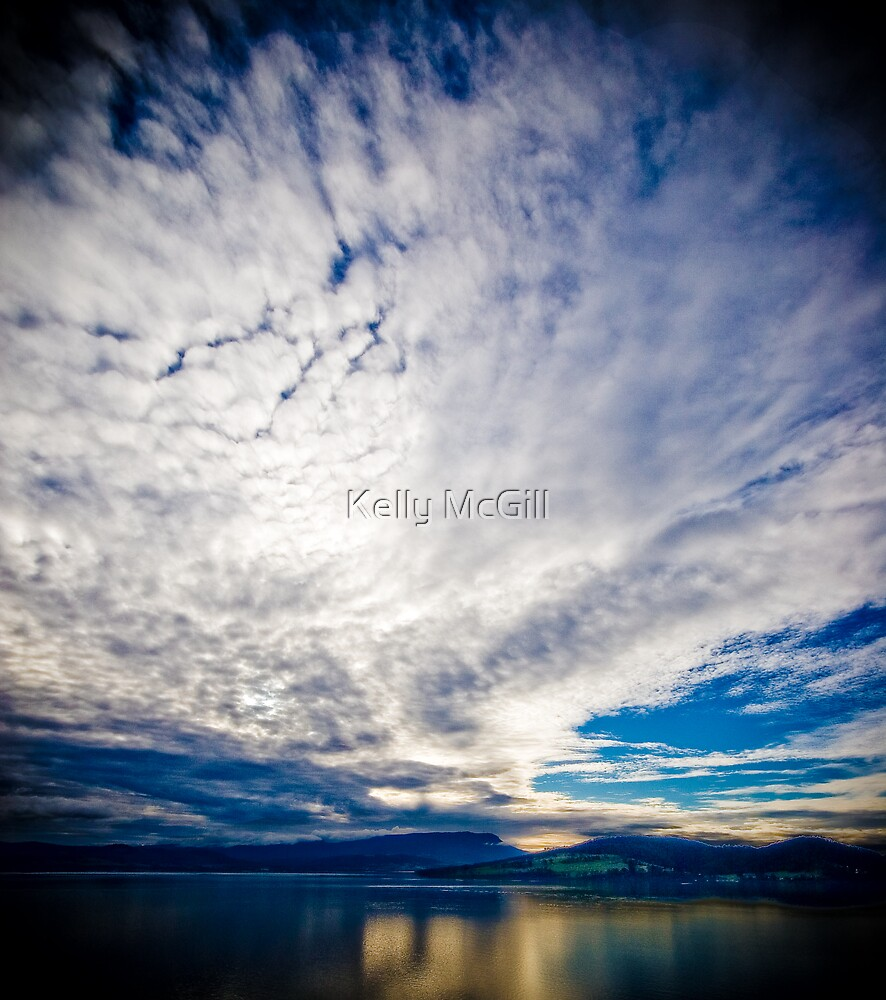 Cloudscape #001 by Kelly McGill