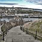 199 steps Whitby by Mike Higgins