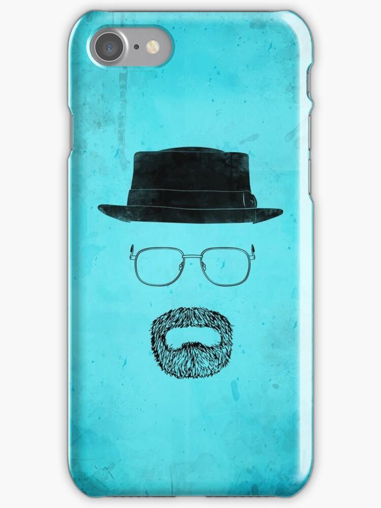 "Heisenberg's Haberdashery - ""That Blue Stuff"" Blue by Nick Prevas"