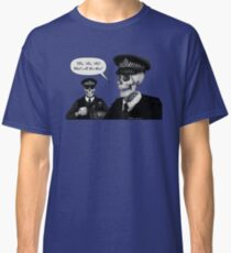 Skeleton Police (Blue) Classic T-Shirt