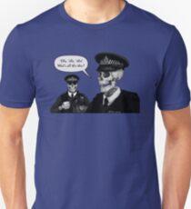 Skeleton Police (Blue) Unisex T-Shirt