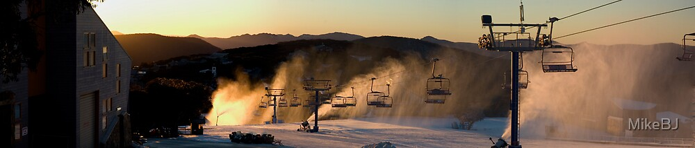 Mt Buller Sunrise  by MikeBJ