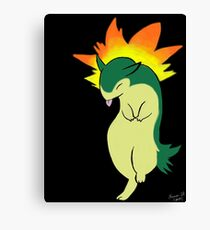 Digital Typhlosion Canvas Print