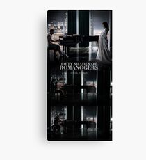 50 Shades of Romanogers Canvas Print