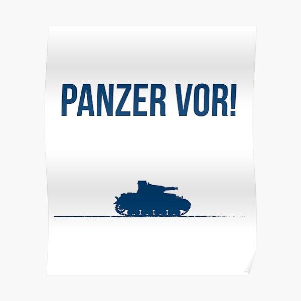Panzer vor! Poster