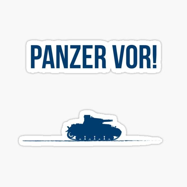 Panzer vor! Sticker