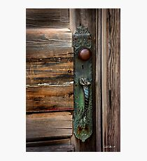 Textured Elegance of the Past Photographic Print